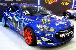 Monster Energy Genesis Coupe Blue by toyonda