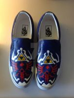 Legend of Zelda Shoes by Pencil-Only