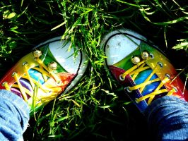 New Converse ... by OoPrincessFraizoO