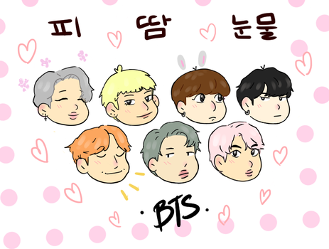 blood sweat and tears chibis by moliupok
