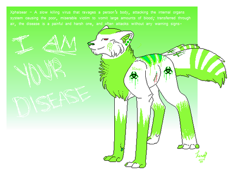 I Am Your Disease by whitewolflover94