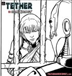 Tether Issue 03 pg 9 pnl 4 inks by IsleSquaredComics