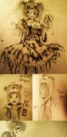 Another Sketch Dump by Triishii
