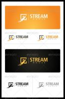 Stream house Logo design for sell by nasirktk