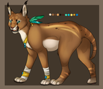 feline adoptable auction by Searii
