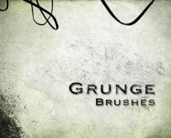 Grunge brushes by darkrose42-stock