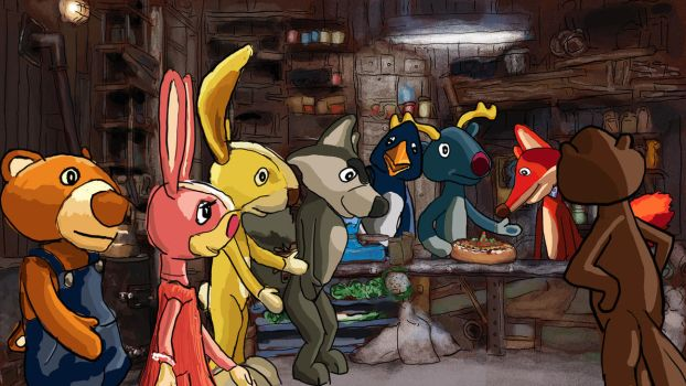 blunder in a fox shop by ginuse
