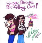 Happy Late Bday Chris by WickedGhoul