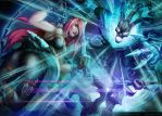Katarina Vs Thresh by nuckerbar