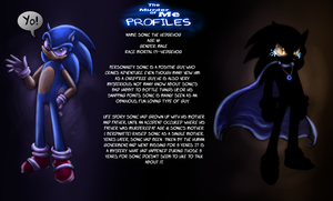 TMOM Profiles-Sonic the hedgehog by Saphfire321