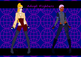 Adopt Fighters Set Open $16 by TaCDLunaria91