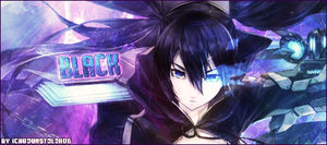 Signature Black Rock Shooter 3 by Ichgovastolorde