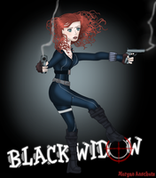Black Widow by CaffeinatedPokedex