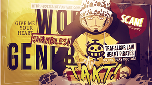Trafalgar Law (BTS) Signature by BozZSai