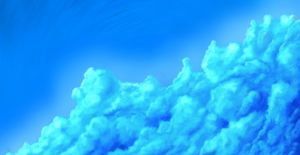 Blue Clouds by Techdrakonic