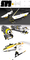 Stryder Modularity's Mako: WIP Part 3 by Pixel-pencil