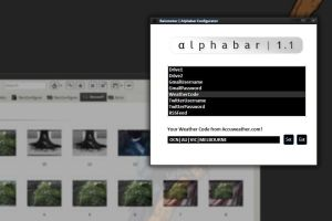 Alphabar 1.1 Configurator by redblackproduction
