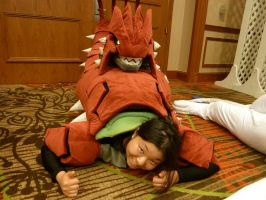 [A-kon 23] Break time for Groudon