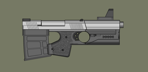 High Power Bullpup Pistol by PatTheGunartist