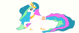 Princess Celestia by Pidgey64