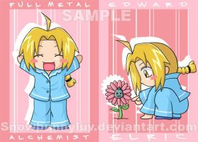 FMA CARD- ED 01 by snowbunnyluv
