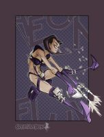 Aeon Flux by CreatureBox