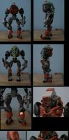 bionicle: general krarg by CASETHEFACE