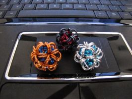 Chainmail Balls by CharmingChains