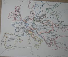 Europe in 1776 by Hillfighter