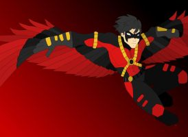 Red Robin Colored by CitySiren