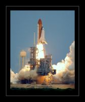 STS-125 Liftoff by OpticaLLightspeed