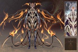 (CLOSED :3) - Armored Soul #015 - Phoenix Prince by Timothy-Henri