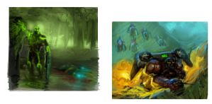 StarCraft Painting Concepts by Kanaru92