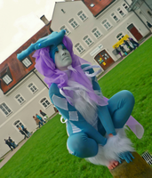 Watch out there (Suicune Cosplay) by Cita-la-Star