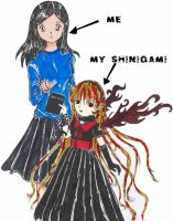 me and my shinigami by kun-bertopeng