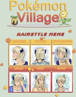 PV :: Camael's Hairstyle Meme by MelodicSoul