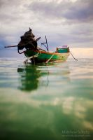 Thai boat by fbcota