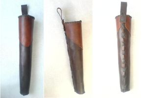 Viking belt Quiver by Glapsvidur