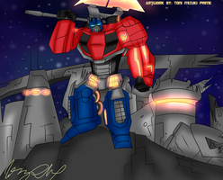 WFC Optimus Prime by ToniMizukiPrime