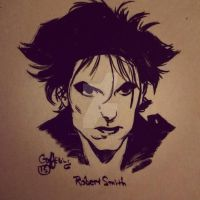 Robert Smith by Geoffrey-Lee-Elkins