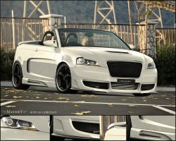 MANSORY AUDI A3 CABRIOLET by hussain1