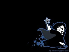 WP - Blue Star Snape by blue-nadir