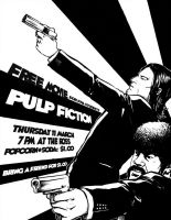 pulp fiction by DragonDream08