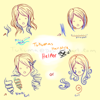 Tukumas hairstyle helper by Tukuma