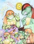 TMNT Tots - Mikey n Raph Comic by alaer