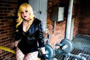 Black Canary by cheese-cake-panda