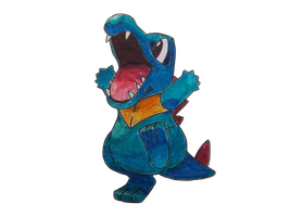 Pokemon Totodile by match16