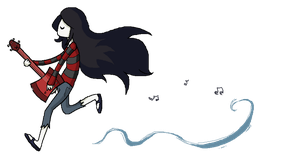 Marceline The Vampire Queen by ClockworkAngelx