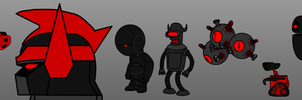 Demon Robot Line Up (CH5) by 53xy83457
