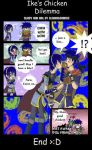 Ike's Chicken dilemma by Glad by IkeFanatics